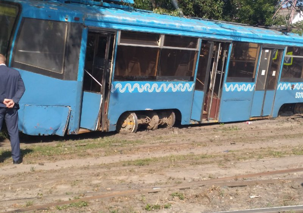 В Курске началась проверка после ДТП с трамваем